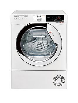 hoover-dxhy10a2tce-10kgnbspload-aquavision-heat-pumpnbsptumble-dryer-with-one-touch-nbspwhitechrome