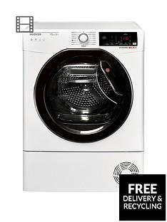 hoover-dynamic-nextnbspdxwh10a2tke-10kgnbspload-aquavision-heat-pump-tumble-dryer-with-one-fi-extra-whiteblack-amp-tinted-door
