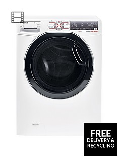 hoover-dynamic-extreme-wdwft4138ah-13kg-washnbsp8kgnbspdry-1400-spin-washer-dryer-with-one-fi-extra-whiteblack-tinted-door