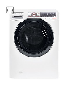 hoover-dynamic-wdwft4138ah-13kg-washnbsp8kgnbspdry-1400-spin-washer-dryer-with-one-fi-extra-whiteblack-tinted-door