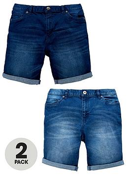 v-by-very-2-pack-denim-shorts