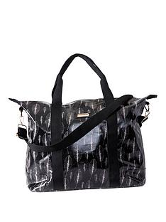 kangol-leaf-print-weekend-bag