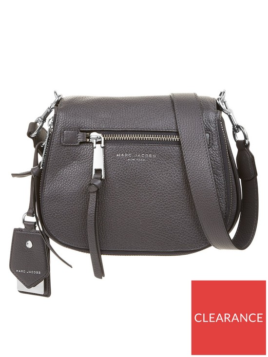 ae67cb7331d5 MARC JACOBS Small Nomad Recruit Bag- Grey