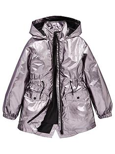 v-by-very-girls-metallic-raincoat