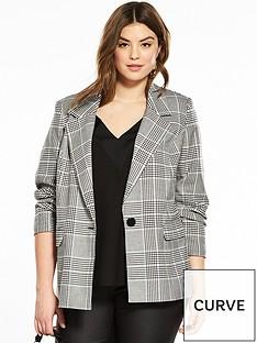 v-by-very-curve-check-blazer