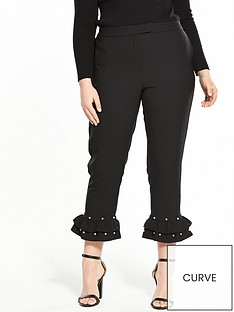 v-by-very-curve-pearl-frill-hem-trouser-blacknbsp