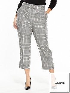 v-by-very-curve-check-belted-trouser