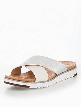 Ugg Kari Slide Sandal - Silver