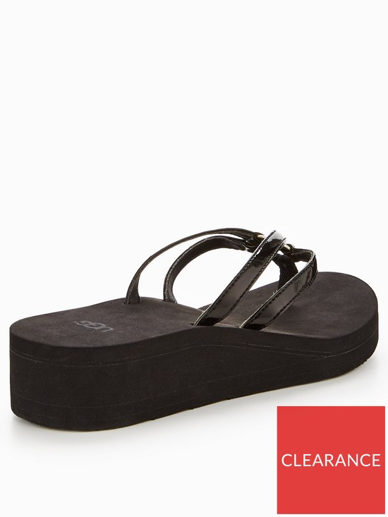 d40208ac0987 ... UGG Sandie Wedge Flip Flop. View larger