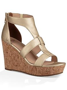 ugg-whitney-caged-high-wedge-sandal-gold