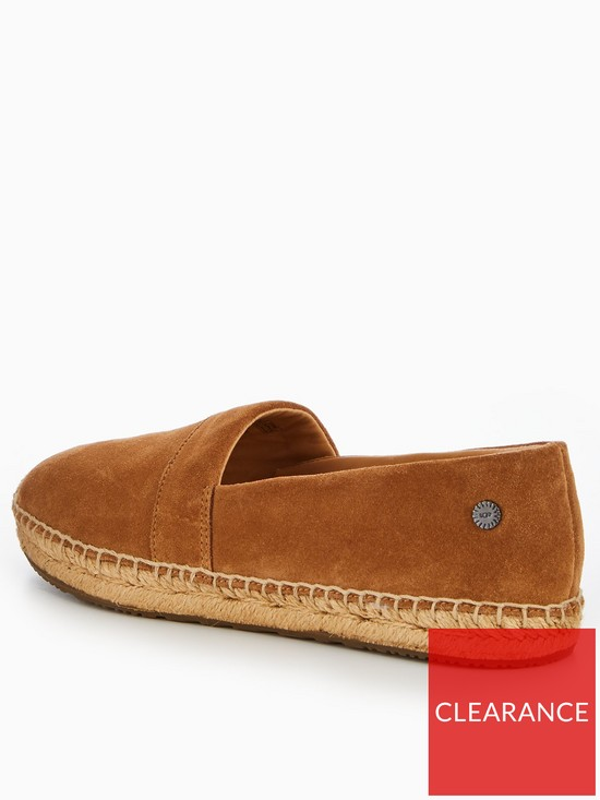 4a444d6599f ... UGG Renada Suede Espadrille Shoes - Brown. View larger
