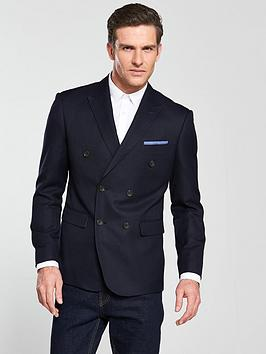 skopes-textured-weave-oxford-double-breasted-blazer-navynbsp