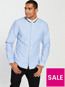 v-by-very-long-sleeved-rib-collar-shirt