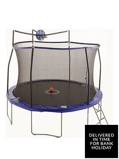 sportspower-12ft-easi-store-slama-jama-trampoline-with-ladder-amp-cover
