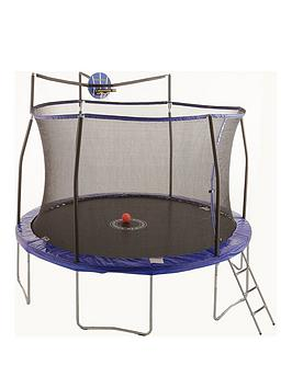 Sportspower 12Ft Easi-Store 'Slama Jama' Trampoline With Ladder  Cover