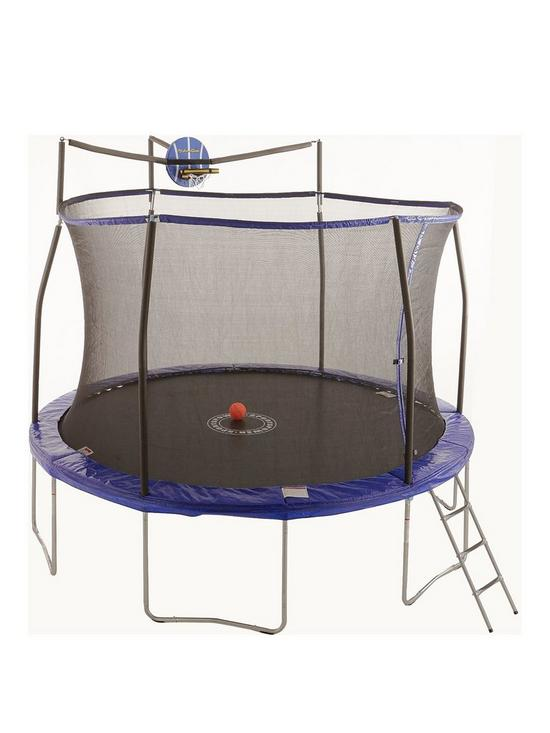 b988ec0c96c75 Sportspower 12ft Easi-Store 'Slama Jama' Trampoline with Ladder & Cover