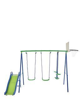 sportspower-multi-play-swings-glider-slider-amp-basketball-net