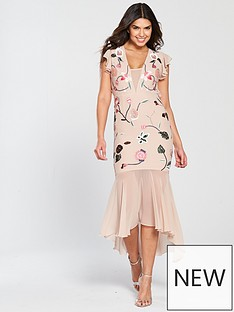 v-by-very-floral-embroidered-sequin-high-low-maxi-dress