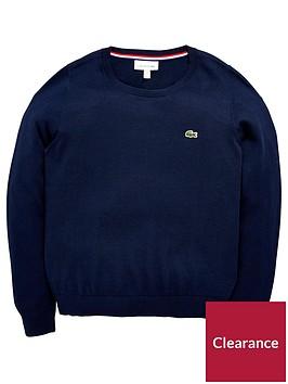 lacoste-classic-crew-neck-sweater