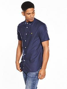 lyle-scott-lyle-amp-scott-classic-short-sleeved-oxford-shirt