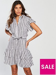 v-by-very-stripe-linen-dress