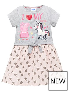 peppa-pig-pig-girls-glitter-print-dress