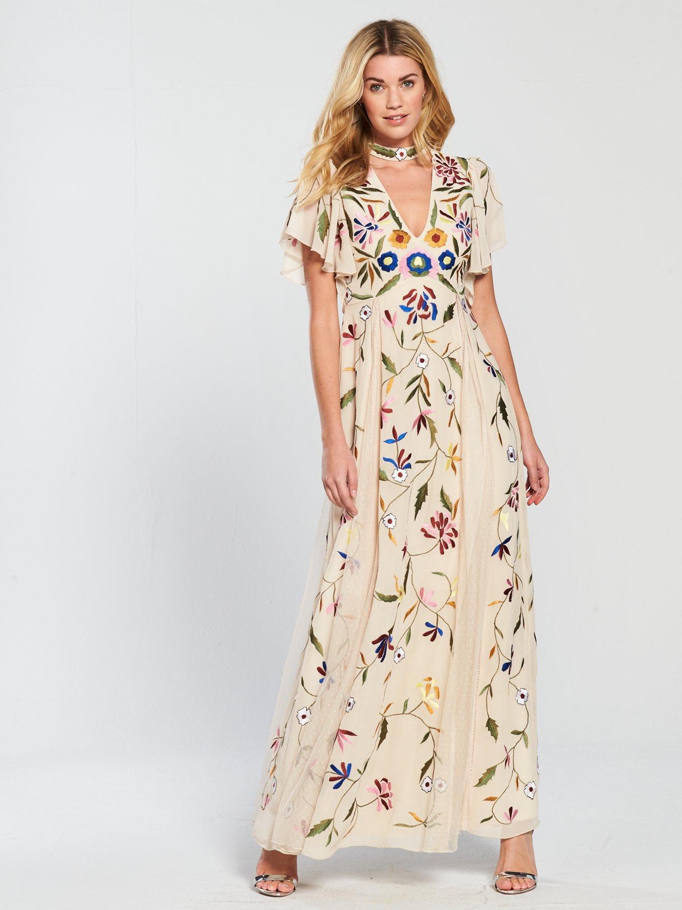 Maxi dress sifon online