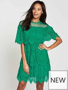 v-by-very-lace-tiered-dress