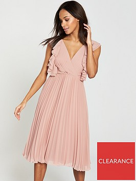 v-by-very-wrapnbsppleated-frill-midi-dress-pink