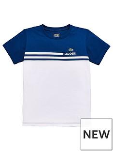 lacoste-sports-short-sleeve-colourblock-t-shirt