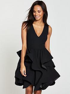 v-by-very-tiered-ruffle-hem-dress