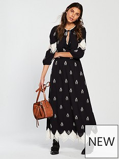 v-by-very-monochrome-embroidered-crochet-trim-midaxi-dress