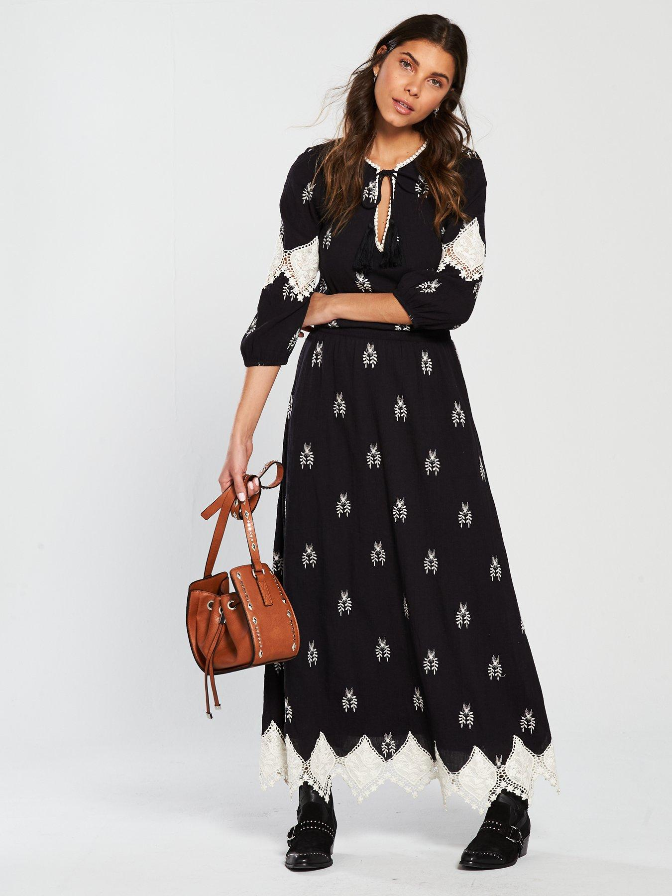 Long maxi dresses uk cheap