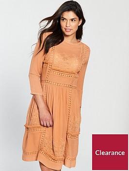 v-by-very-crochet-trim-midi-dress