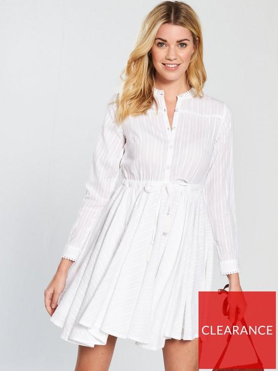039c53f599dc V by Very Full Skater Shirt Dress