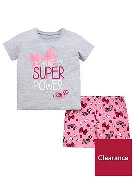 jojo-siwa-girls-shorty-pyjamas