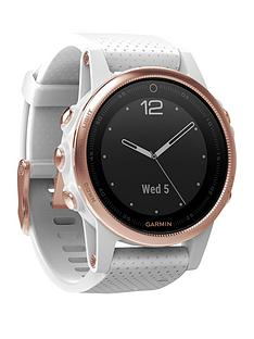 garmin-fenix-5s-gps-watch-with-rose-gold-and-white-band