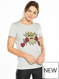 v-by-very-pull-me-cracker-sequin-christmas-t-shirt
