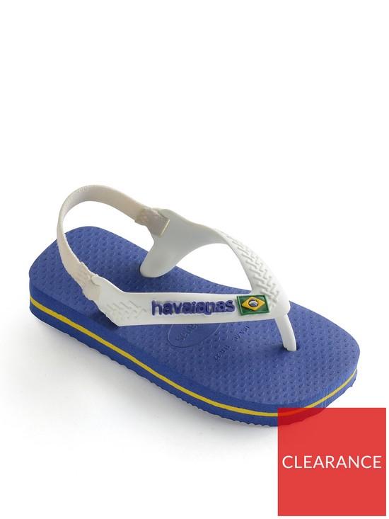 73b5457a849e Havaianas Baby Brazil Logo Flip Flop