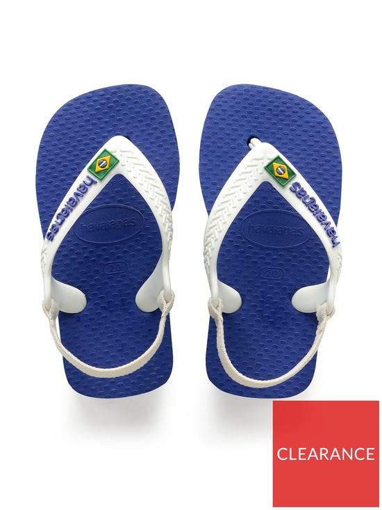 8ce4fa06c382b5 ... Havaianas Baby Brazil Logo Flip Flop. View larger