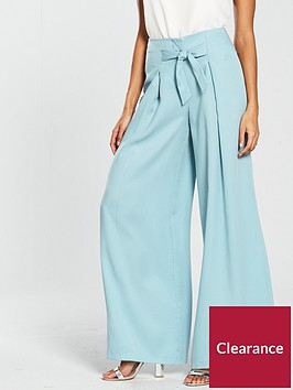 v-by-very-wide-leg-soft-belted-trouser-blue