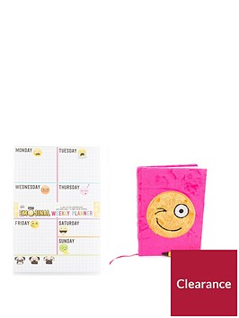 emoji-weekly-planner-notebook-and-predictor-pen-set
