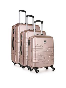 Revelation By Antler Finlay Premium 4-Wheel 3 Piece Luggage Set