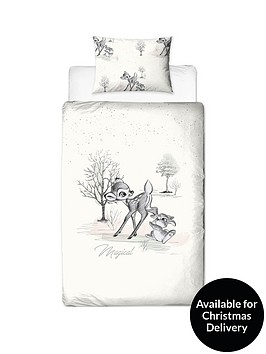 bambi-christmas-single-duvet-cover-set