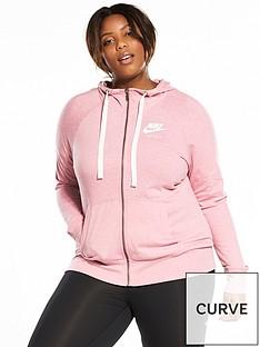 nike-gym-vintage-full-zipnbsphoodie-plus-size-pinknbsp