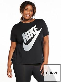 nike-logo-futura-t-shirt-plus-size-blacknbsp