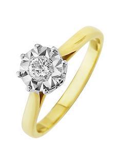 starlight-9ct-gold-1ctnbsplook-25-point-diamond-illusion-set-solitaire-ring