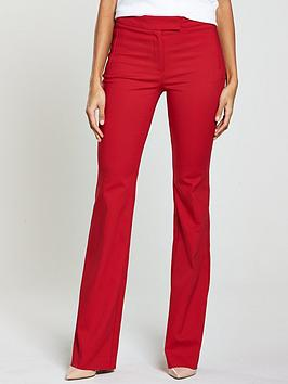v-by-very-flare-trouser-red