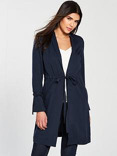 v-by-very-longline-tie-detail-duster-navy