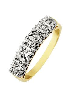 starlight-9ct-gold-1ctnbsplook-10-point-illusion-set-eternity-ring